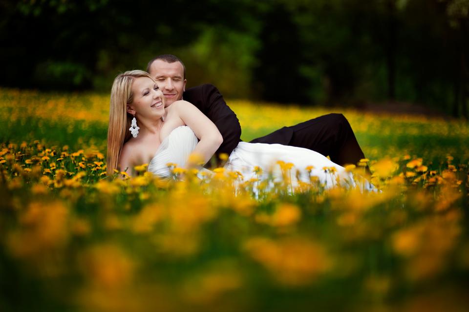 fotografia ślubna plenerowa